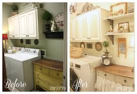Country Laundry Room Decorating Ideas From My Front Porch To Yours Country Farmhouse Thru The