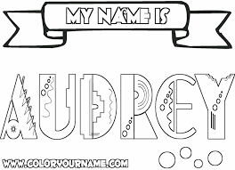 printable coloring pages audrey