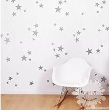 taille chambre mixtes taille étoiles stickers muraux autocollant kid chambre