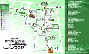 Map Of Tennessee State Parks by Festival Map Bristol Rhythm U0026 Roots Festival