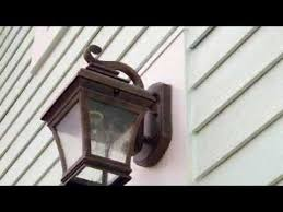 how to install an outdoor wall light sturdimount fiber cement mounting blocks from the tapco group youtube