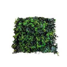 greensmart decor 20 in x 20 in artificial moss wall panels set