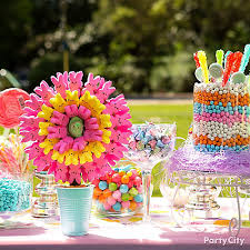 Birthday Candy Buffet Ideas by Easter Candy Buffet Idea Party City