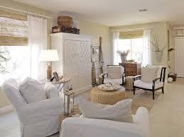 Beach Rugs Home Decor Furniture White Furniture Coastal Theme With Bamboo Shades And