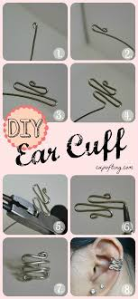 how to make ear cuffs diy jewelry diy ear cuff i ve been looking for this effing