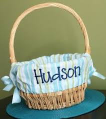 personalized easter basket personalized monogrammed easter basket liner silly spunky dots