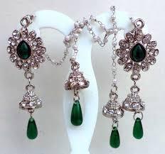 artificial earrings buy cheap wholesale indian earrings dangle fashion rhinestone