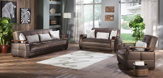 Istikbal Living Room Sets Convertible Living Room Set In Prestige Brown By Istikbal