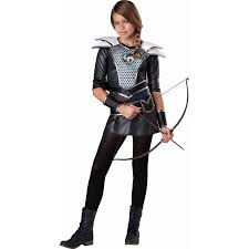 Halloween Costumes Girls Teens Midnight Huntress Girls U0027 Teen Halloween Costume Walmart