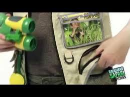 Backyard Safari Toys Backyard Safari Cargo Vest Toys U0026 Games Youtube