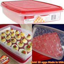 deviled egg carrier rubbermaid deviled egg keeper tray container carrier food storage