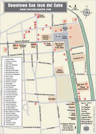 san jose cabo map hotels cabo shopping