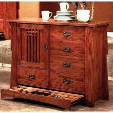 mission oak sideboard mission buffet table craftsman style oak