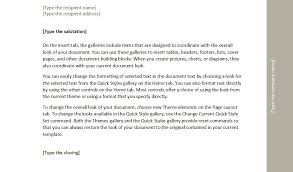 typing business letters the letter sample