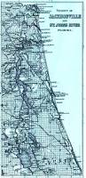 Map Jacksonville Florida by Vicinity Of Jacksonville And St Johns River Florida 1886