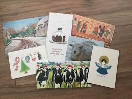 custom design christmas cards ne wall