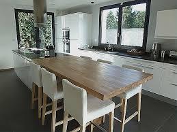 table de cuisine avec rallonges table avec rallonges integrees pour idees de deco de cuisine
