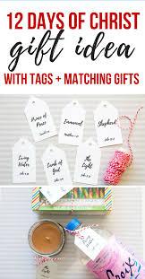 simple 12 days of christ christmas gift idea so festive