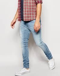 mens light blue jeans skinny light wash skinny jeans mens bod jeans