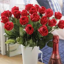 roses wholesale china real touch artificial silk roses wholesale china