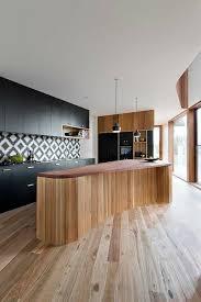mod e de cuisine moderne idées de cuisine moderne où le bois est à la mode