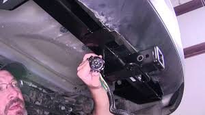 installation of a trailer wiring harness on a 2015 jeep grand