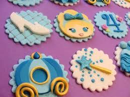 cinderella cupcake toppers princess cupcake toppers fondant cupcake toppers cupcake toppers
