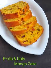 priya u0027s versatile recipes fruits u0026 nuts mango cake with homemade