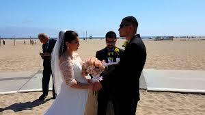 santa monica beach batman themed wedding youtube