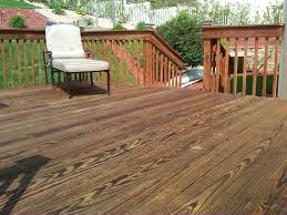 fence deck staining phillips fencing