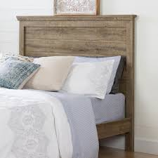 South Shore Headboard South Shore Lionel Weathered Oak Queen Headboard 10302 The Home