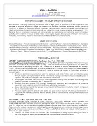 Sample Resume Marketing Executive by Product Marketing Manager Resume Template Virtren Com