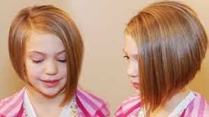 bob hairstyles for kids girls adorable a line hairstyle for little