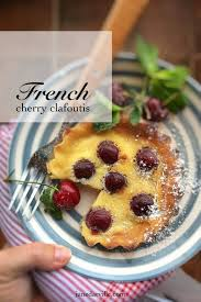 cherry clafoutis recipe french simple tasty good
