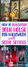 how to transform your house with halloween scene setters
