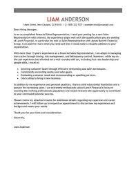 cover letter for sales representative lukex co