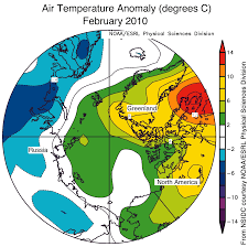 World Temperatures Map by February Uah Global Temperature Anomaly U2013 Little Change Watts Up