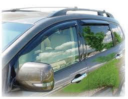tribeca subaru 2006 window visor rain guards for subaru b9 tribeca tape on outside