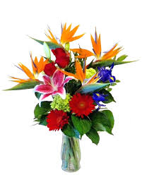 tropical flower arrangements fresh flower bouquets mixed flower