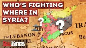 Syria Fighting Map by Who U0027s Fighting Where In Syria War Map Real Matters Youtube