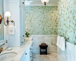 wallpaper ideas for small bathroom wallpapered bathrooms designer wallpaper for bathrooms photo of