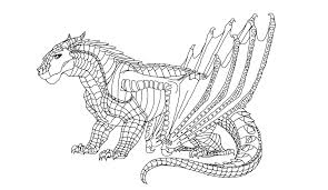 18 images of wings of fire nightwing coloring pages wings of