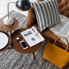 West Elm Coffee Table 5 Ways To Use West Elm S Clover Coffee Table Front