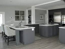kitchen hardwood floors white kitchen cabinets with grey walls