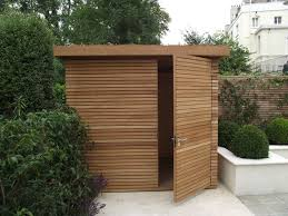 shed with extended roof for outdoor storage pretty smart and a
