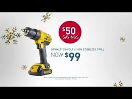 black friday power tools tv commercial spot lowe u0027s black friday deals tools and gifts