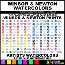 winsor and newton artists watercolor paint colors winsor and