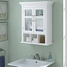 Wall Mounted Bathroom Cabinet Simpli Home Avington 23 63 W X 30 13 H Wall Mounted Cabinet