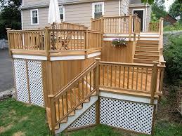 deck lattice design beautiful decks your design or ours home