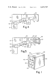 Lateral File Cabinet Lock Replacement by Patent Us4453787 Interchangeable File Cabinet Lock Assembly